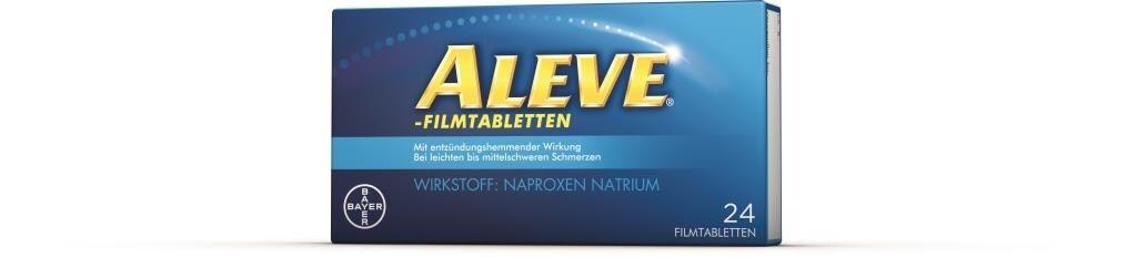Verpackung von ALEVE - Filmtabletten