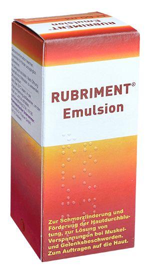 Rubriment - Emulsion - Gebrauchsinformation